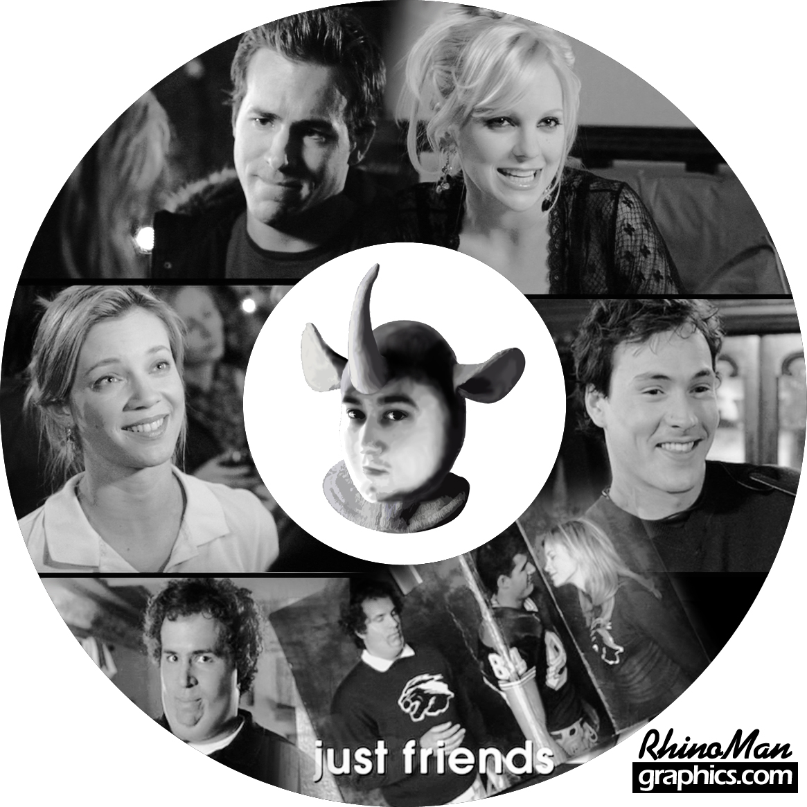 JUST FRIENDS - DVD Lightscribe Cover